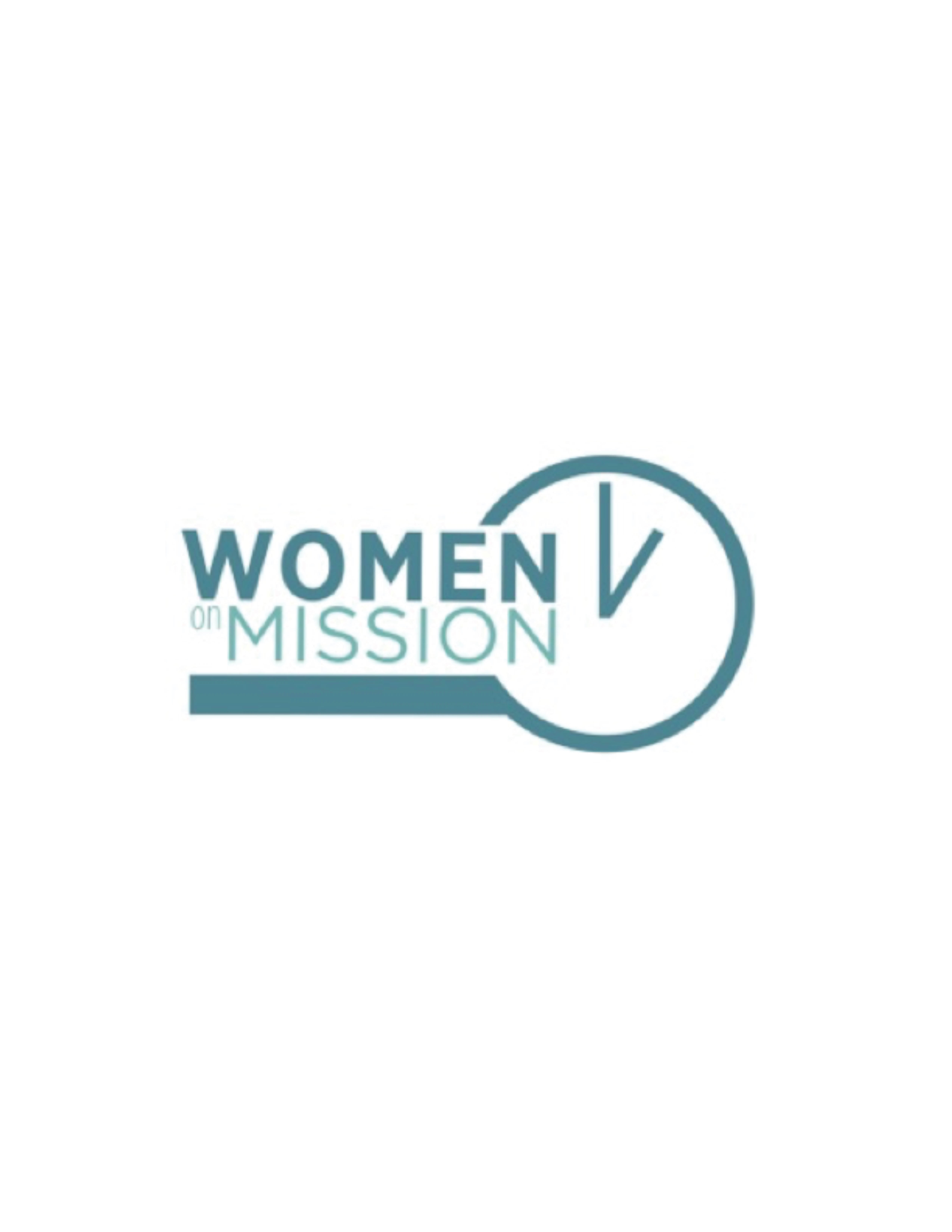 Women on Mission Week of Prayer for International Missions